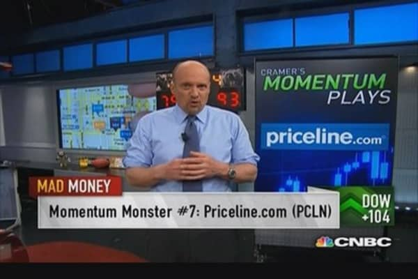 Momentum plays key in growth-starved market