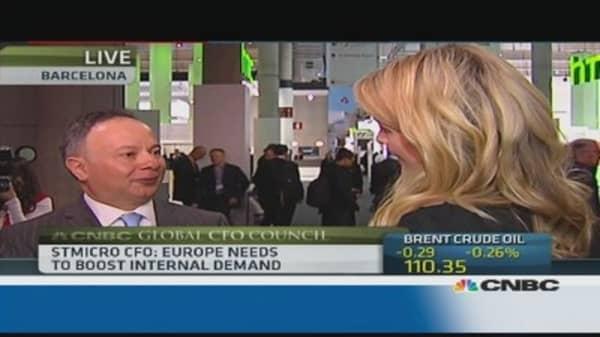 Europe needs to boost internal demand: STMicroelectronics CFO