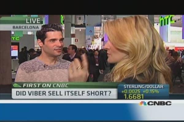 Viber 'very happy' with Rakuten deal: CEO