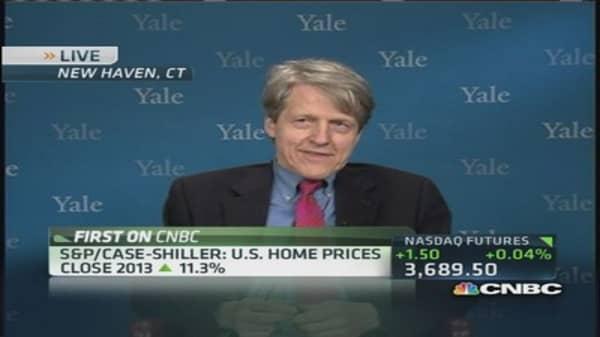 Shiller: Signs housing is weakening