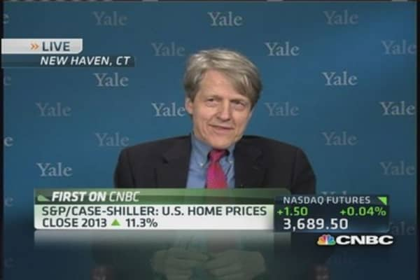 Shiller: Signs housing is weakening
