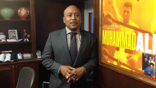 "Daymond John, entrepreneur and Shark on ""Shark Tank."""