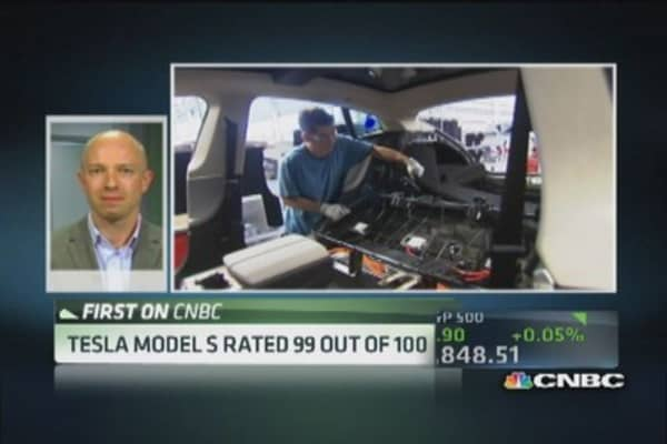 Consumer Reports: Tesla Model S top overall pick