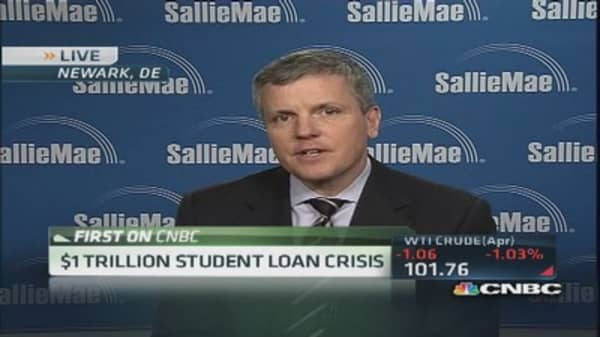 Sallie Mae CEO: Some manage student loan debt successfully