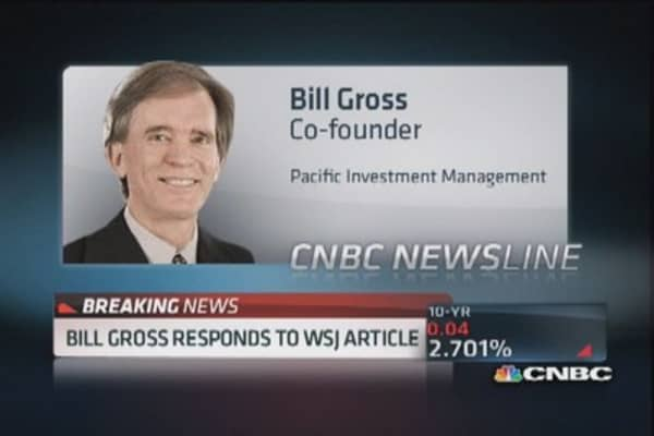 Bill Gross: 'Autocratic staff' debate overblown