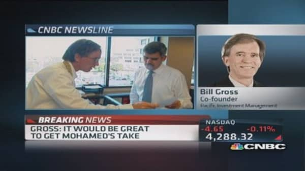 Bill Gross: Our atmosphere is competitive, but typical