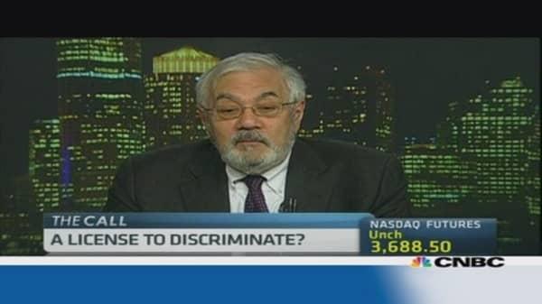 Berney Frank: Arizona's right-to-discriminate bill is 'stupid'