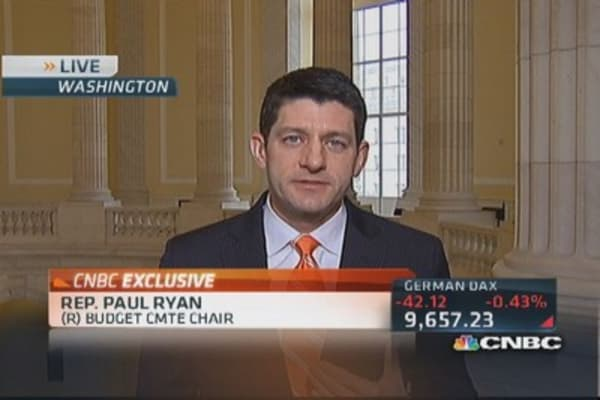 Rep. Ryan: Liberal president won't do anything constructive