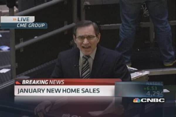 January new home sales hits 9.6%