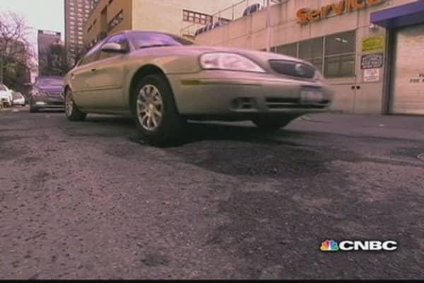 America's pothole crisis