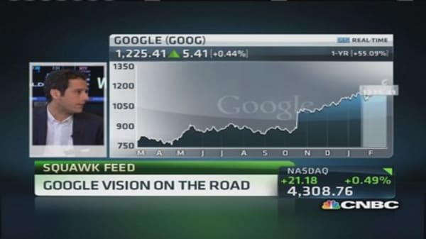 Google Glass hits the road