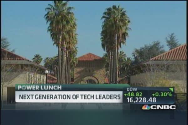 Stanford building high tech entrepreneurs