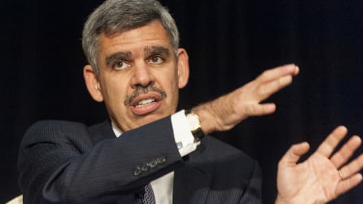 Mohamed El-Erian, former chief executive officer and co-chief investment officer of Pacific Investment Management Company LLC.