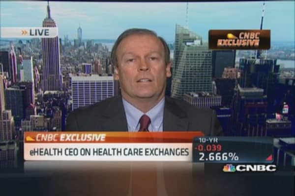 eHealth CEO on health care exchanges