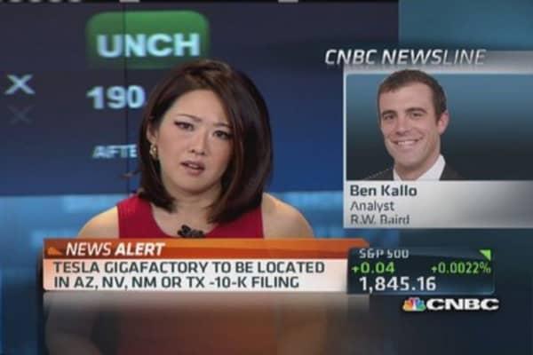Tesla's 'Gigafactory'
