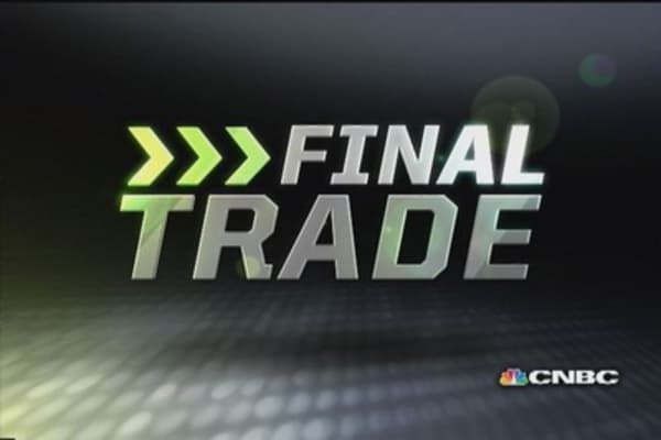 Fast Money Final Trade: GM, PAY, XBI, CBI