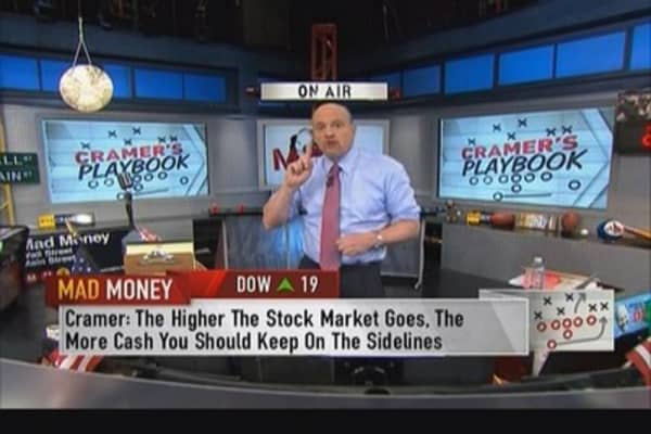 Cramer's Playbook: Always have some cash in portfolio