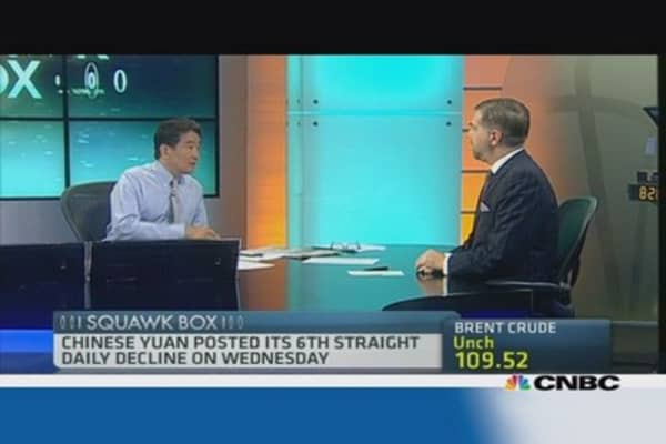 'PBOC is the market' behind yuan: Julius Baer