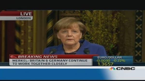 Europe must reform: Merkel