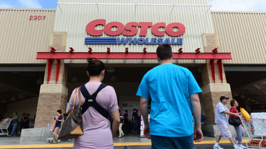A Costco store in Alhambra, Calif.