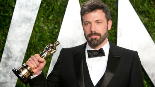 Ben Affleck's Iran hostage drama 'Argo' won the coveted best film Oscar.