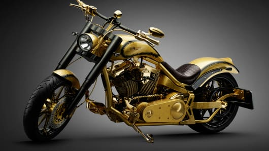 Lauge Jensen recently sold what is believed to be the world's most expensive motorcycle.