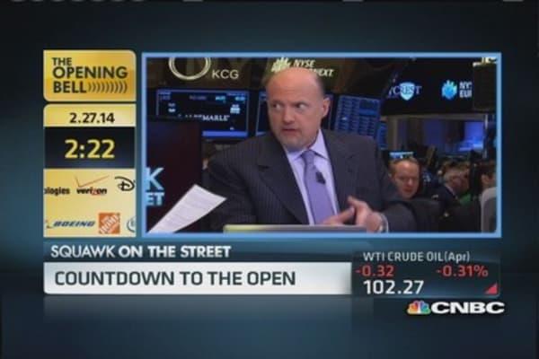 Cramer: Sprint, T-Mobile deal is happening