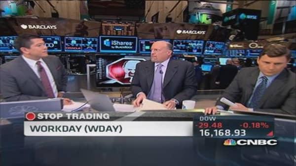 Cramer's Stop Trading: Workday & Safeway