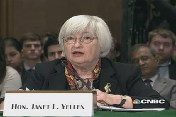 Fed's Yellen: Soft data may reflect adverse weather