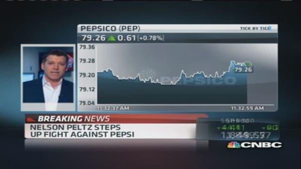 Nelson Peltz taking Pepsi battle to shareholders