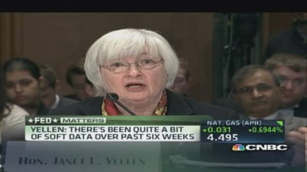 Fed's Yellen on bitcoin, unemployment & weather