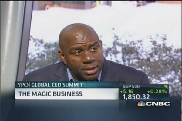 Magic Johnson: Howard Schultz taught me a lot