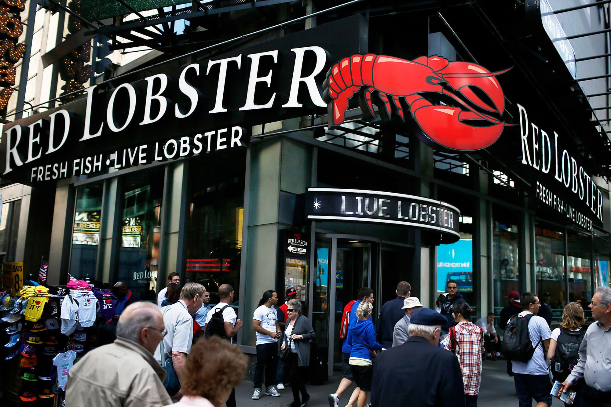 Darden Sells Red Lobster To Golden Gate Capital For 21 Billion