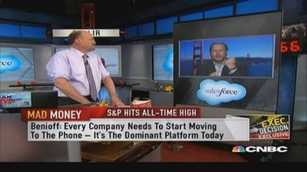Marc Benioff: Mobile the dominant platform today