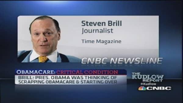 Did Obama want to scrap Healthcare.gov?