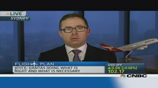Qantas CEO: We have the confidence of the board