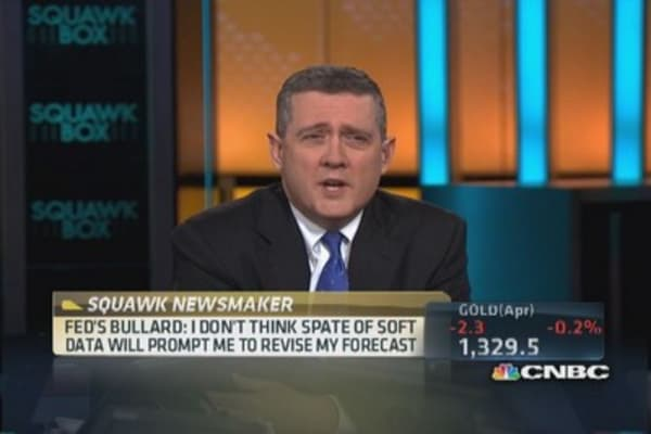 Bullard: Housing sector improving
