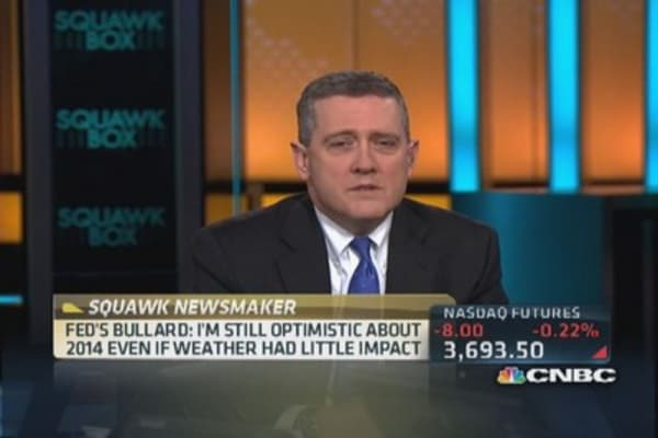 Bullard: Deck has been cleared for US growth