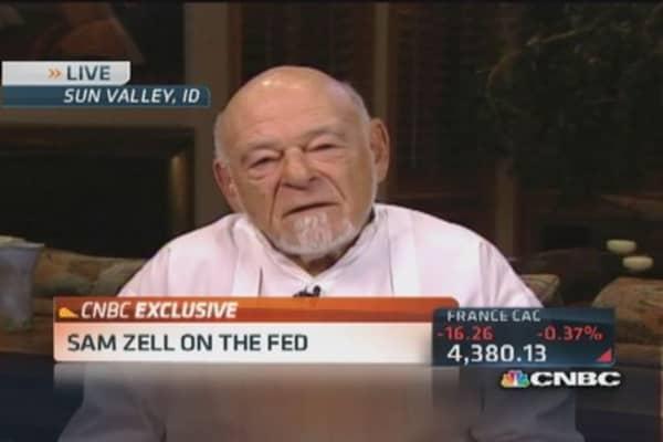 Zell: US economy is 'benign'