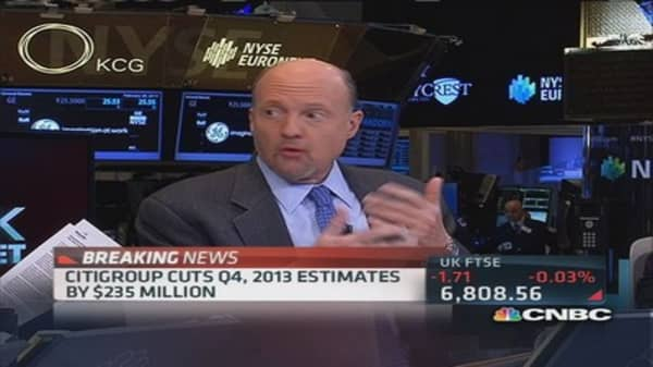 Cramer on Citi fraud: This is not minor