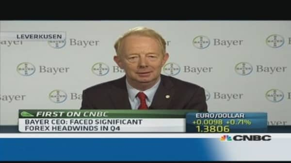 Optimistic outlook for Bayer: CEO