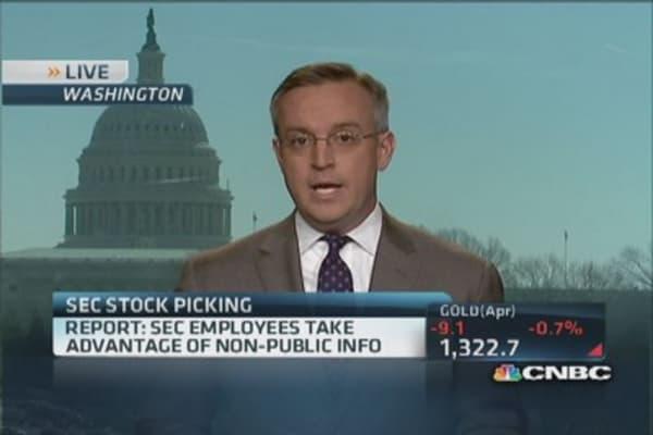 Report: SEC employees take advantage of non-public info
