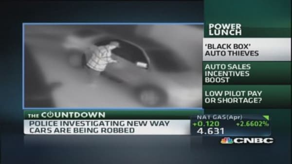 Car thieves getting tech savvy