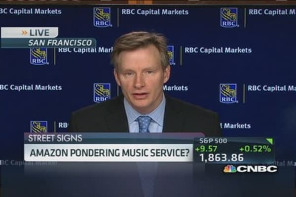 Amazon going for slice of Apple's music?