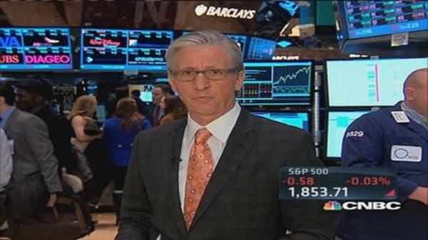 Pisani: Ukraine headlines cause market dip