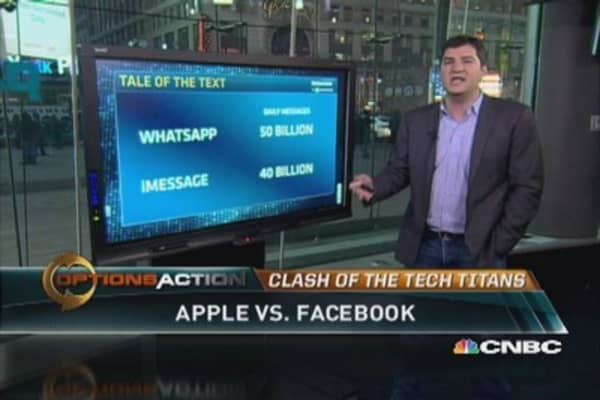 Will Apple counter Facebook move?
