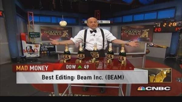 And Cramer's Golden Bull goes to...