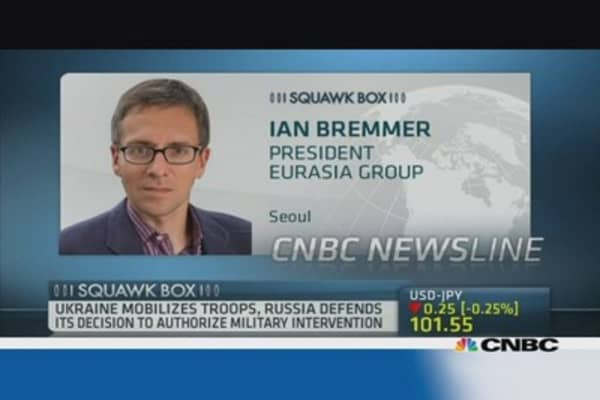 Eurasia Group: 'Geopolitical tensions worse than 9/11'