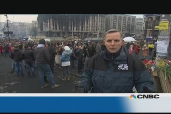 Ukraine: Independence Square is 'living memorial'