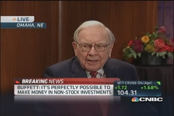 How Buffett plans to take care of his widow